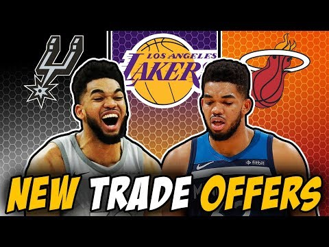 NEW Trade Offers For Karl-Anthony Towns