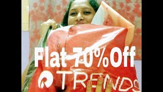 Reliance Trends Shopping Haul ,.. Flat 70% Off