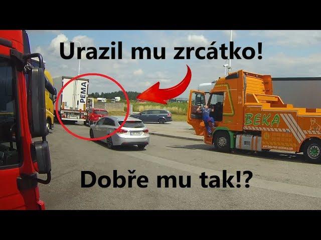 Kompilace ze silnic č.35 - Urval mu zrcátko a ujel?!