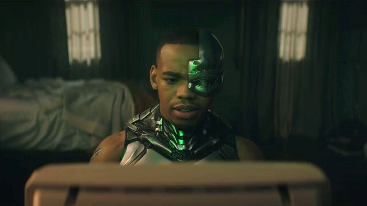 Cyborg Communicates With Grid Doom Patrol 1x11 Hd Scene Youtube