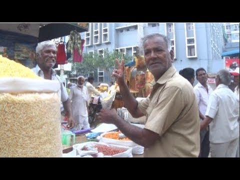 Vellore Special Mixed Masala Muri (Puffed Rice) - (Part - 2), Tamil Nadu | Street Foods of India