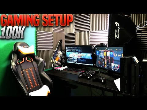 SMALLEST Gaming Room Setup In The WORLD - Gaming Setup Tour 2015 (Closet Game Setup)