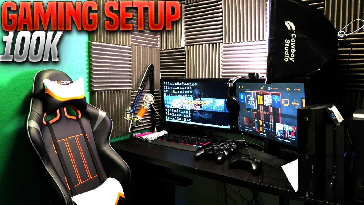 SMALLEST Gaming Room Setup In The WORLD Gaming Setup Tour 2015