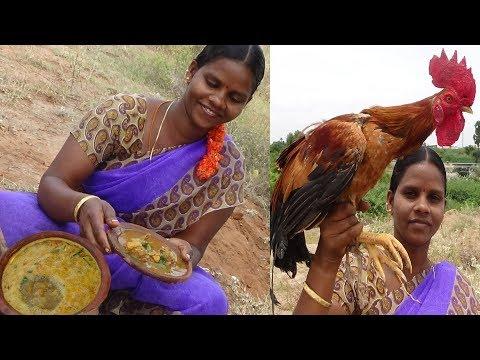 Village Style Nattu Kozhi Rasam Recipe | Naatu Koli Soup | நாட்டு கோழி ரசம் ~நாட்டுக்கோழி கோழி சூப்,