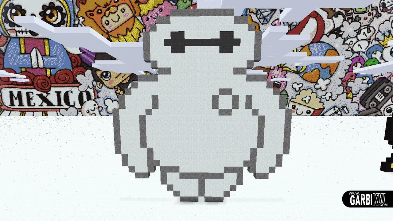 pixel art big hero 6