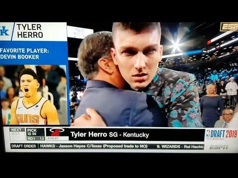 miami-heat-select-tyler-herro-with-#13th-pick-nba-draft-2019