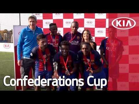 Kia Champ into the Arena 2017 Highlight (South Africa) l Confederations Cup 2017 l Kia