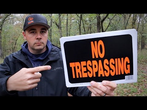 Dealing with Trespassers!