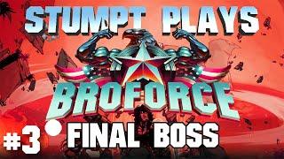 Broforce: Final Campaign - #3 - SATAN FIGHT!