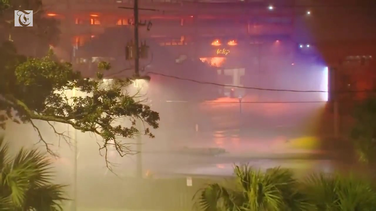 Hurricane Nate makes landfall at U.S. Gulf Coast