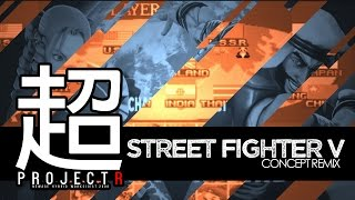 SELECT FIGHTER II - Street Fighter V Player Select ver2