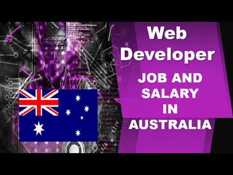 Web Developer Salary In Australia - Jobs And Wages In Australia