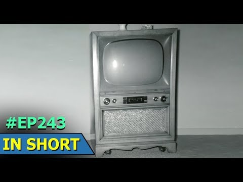 Early Television | John Logie Baird | Mechanical Television System | In  Short | Episode 243
