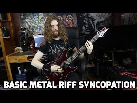 Basic Riff Syncopation - Modern Metal Rhythm Guitar, Lesson 5