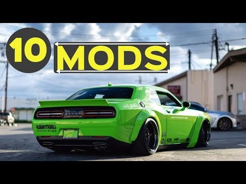 10 Popular Mods for the Dodge Challenger - Making Your Car Awesome!