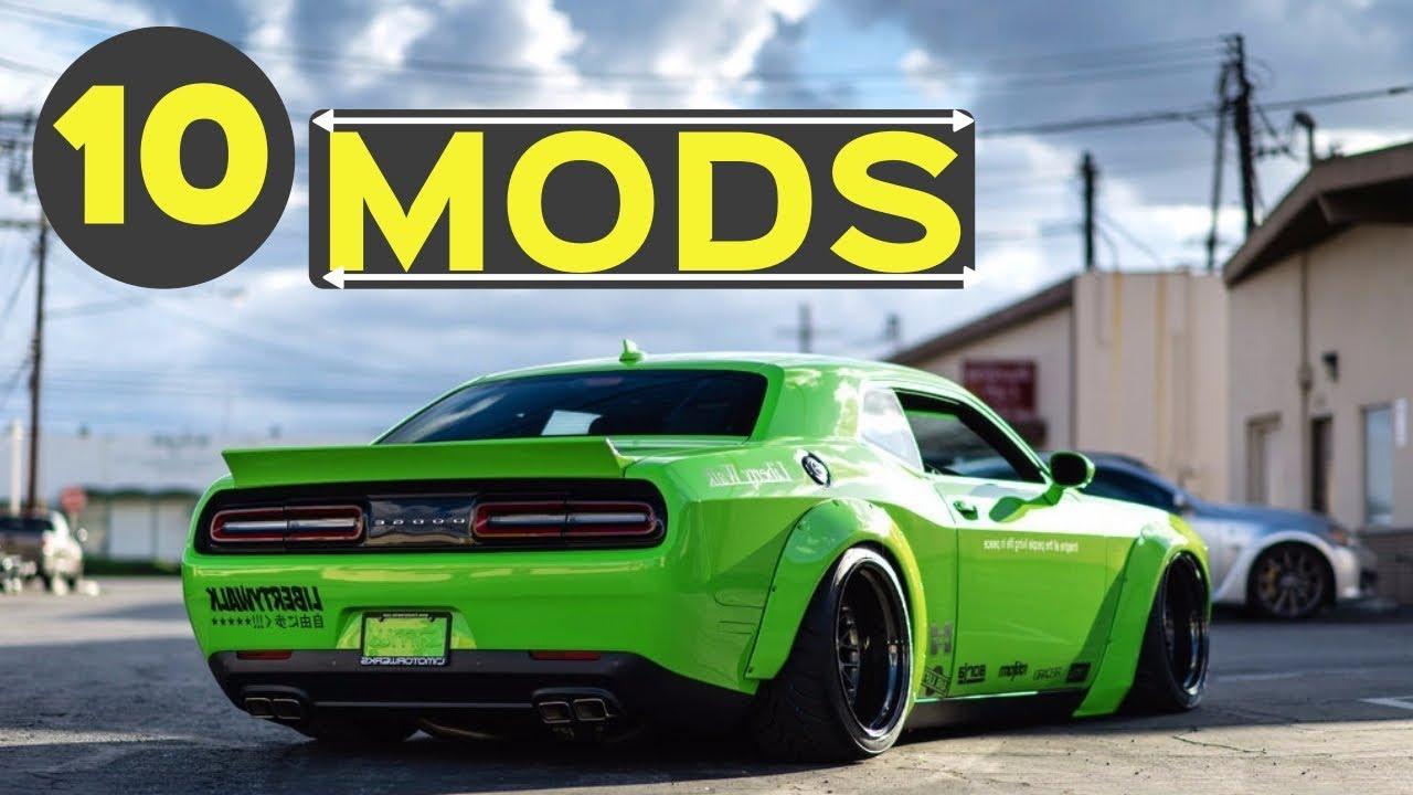 10 popular mods for the dodge challenger making your car. Black Bedroom Furniture Sets. Home Design Ideas