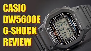 Casio G-Shock DW5600E Review