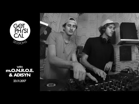 Get Physical Sessions Episode 86 with m.O.N.R.O.E. & Adisyn