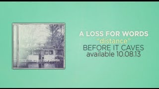 A Loss For Words -  Distance