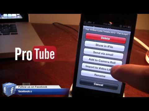 ProTube - Advanced YouTube App for iPhone & iPad (Cydia App)