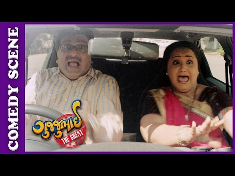 Gujjubhai The Great Comedy Scene - Gujjubhai In Marriage Bureau  – New Gujarati Movie