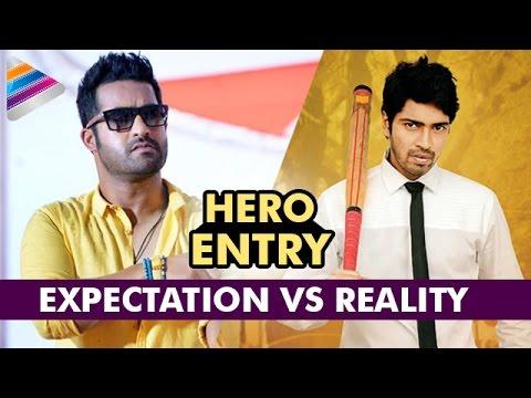 Jr NTR Vs Allari Naresh | Hero Entry Scene | Expectation Vs Reality | Best Telugu Comedy Scenes