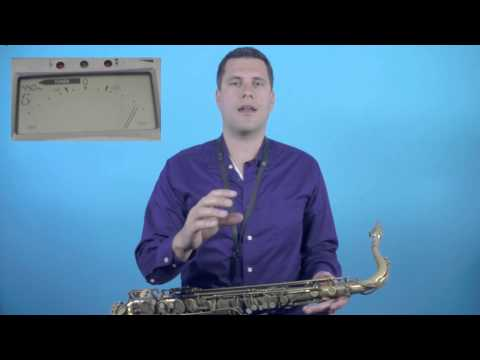 how to play alto sax in tune