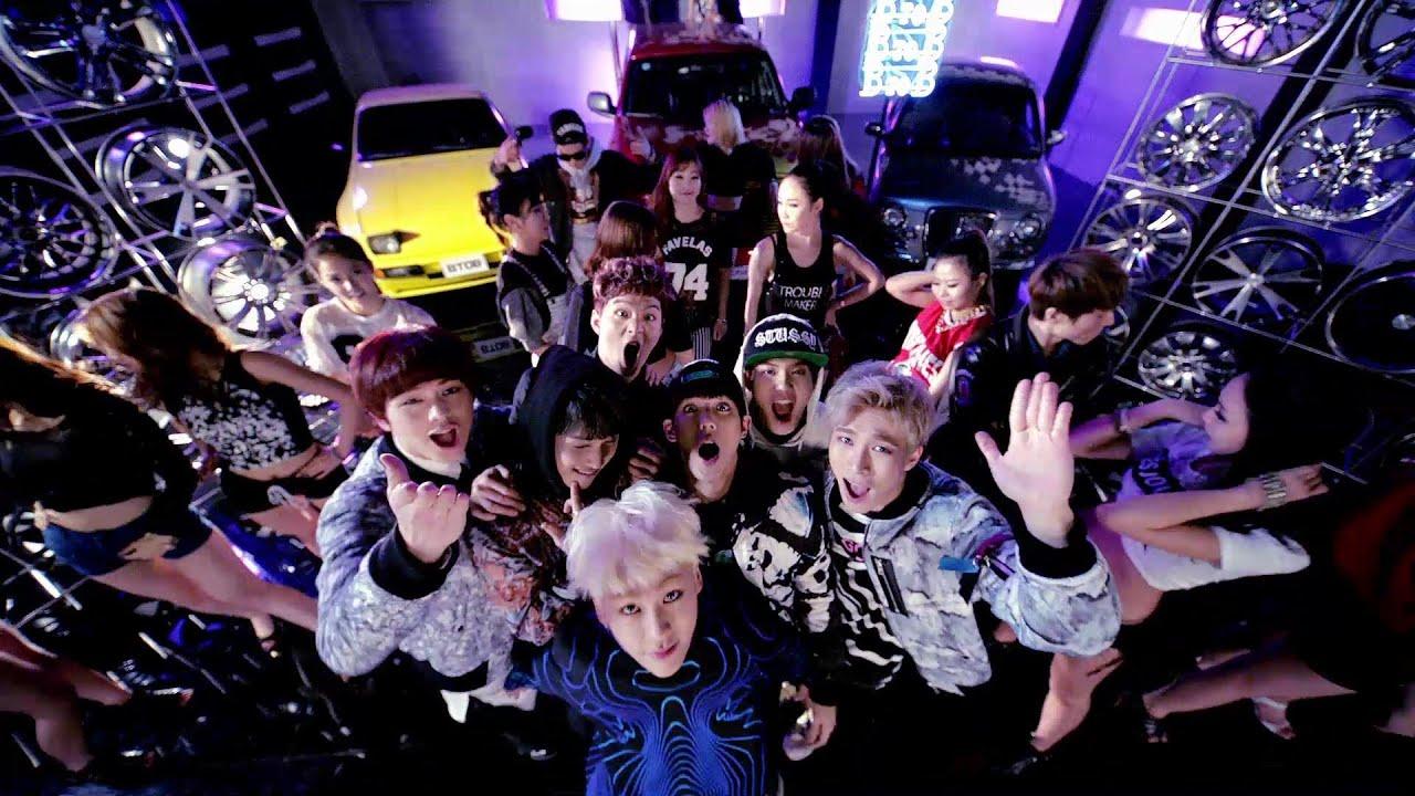 BTOB - 뛰뛰빵빵 (Beep Beep) Official Music Video
