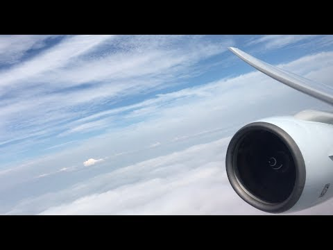 [Rolls-Royce engine view] Cathay Pacific B777-300 TAKEOFF at Hong Kong