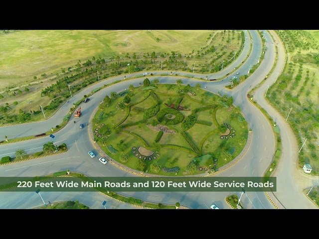 Wide Road Network | Gulberg Islamabad