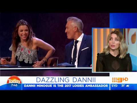 Dannii Minogue - Interview 23/1/2017 - The Today Show, Australia