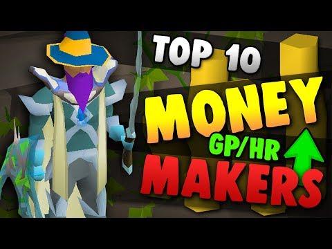 Top 10 BEST Money Making In OSRS