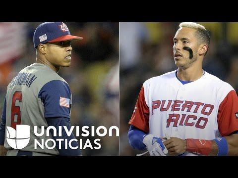 Estados Unidos y Puerto Rico disputan la final del clásico Mundial de Béisbol 2017