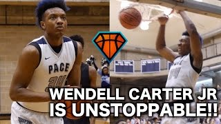 Wendell Carter Jr Was UNSTOPPABLE For Pace Academy!! | Advances To the GHSA Elite Eight