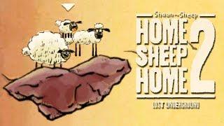 Обложка ТРИ ОВЕЧКИ В ПОДЗЕМЕЛЬЕ Home Sheep Home 2 Lost Underground