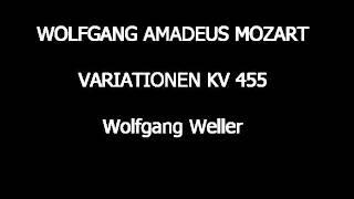 Mozart, Variationen G-Dur KV 455, Wolfgang Weller 2014.