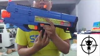 [REVIEW] รีวิวปืนเนิร์ฟ Nerf Rival Zeus MXV-1200 Blaster
