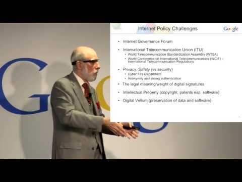 "Dr. Vint Cerf on ""Reinventing the Internet"""