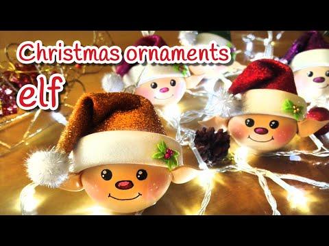 DIY Christmas crafts: ELF (Christmas ornaments) - Innova Crafts