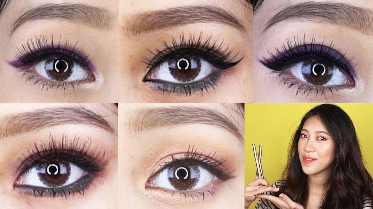 Biến Hóa 5 Kiểu Mắt Bằng Chì Kẻ Mắt Lustre [ Vanmiu Beauty ]