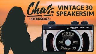 Гитарный спикерсимулятор Chas Vintage 30 Speakersim