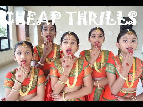 Cheap Thrills - Desi Style By Raga Labs | DANCE COVER | Indian Classical Dance Choreography