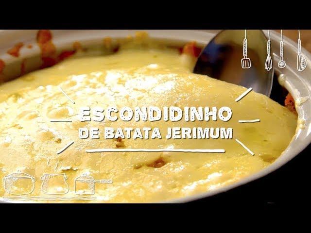 Escondidinho de Batata Jerimum - Sabor com Carinho (Tijuca Alimentos)