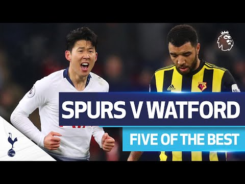 FIVE OF THE BEST |  SET THE BEST GOALS AT CASA V WATFORD |  Foot.  Son, Dele, Lamela and Robinson!