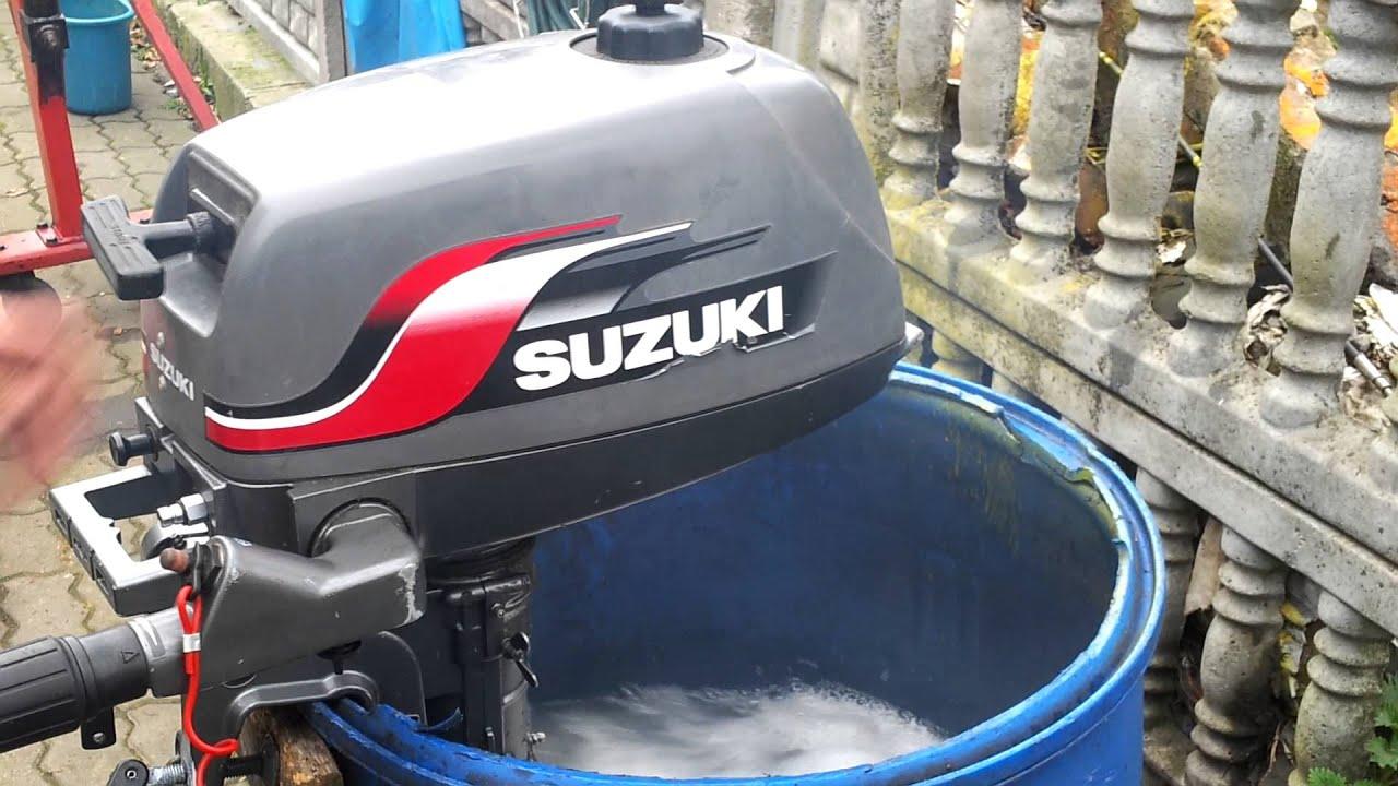 2000 Suzuki 4 Hp Outboard Motor 2 Stroke Dwusuw Youtube