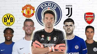 Latest Transfer News: Buffon to PSG, Alvaro Morata to Juventus and more