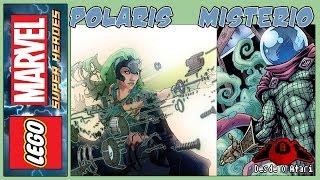 Lego Marvel Super Heroes | Desbloquear Polaris e Mistério | RazuchiTV | Desde o Atari