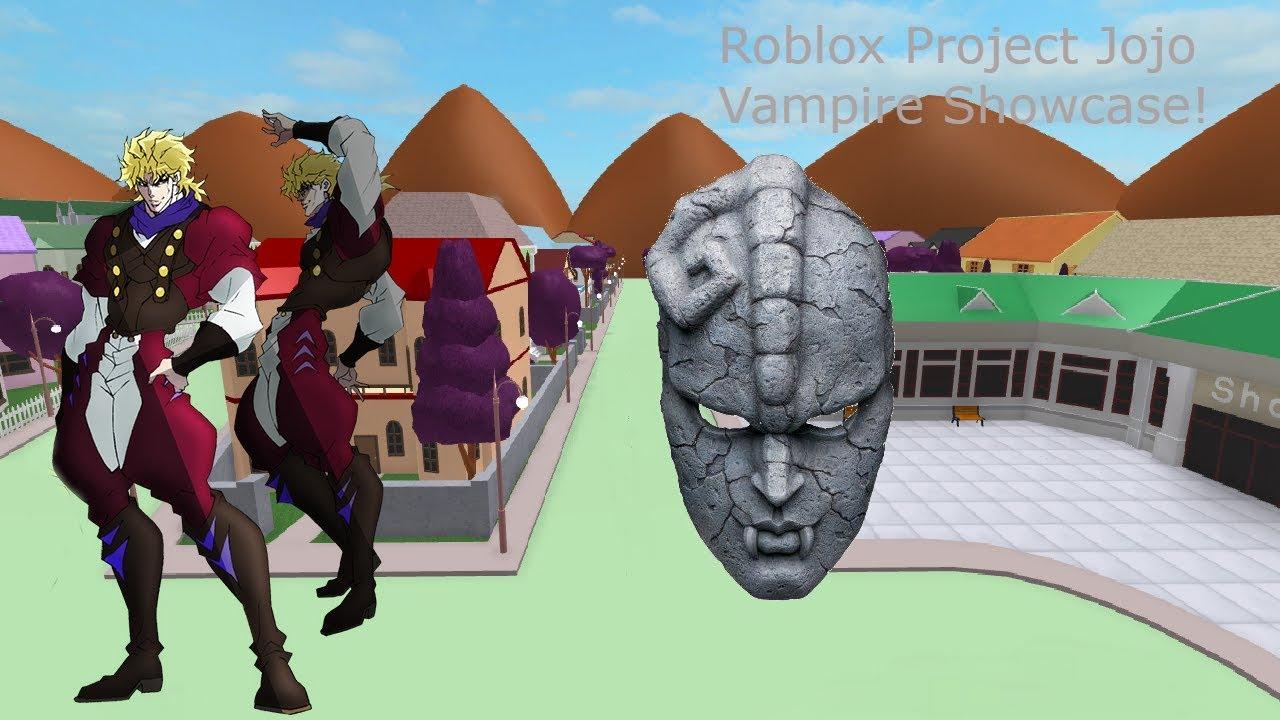 Roblox Project Jojo Vampire Showcase!