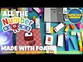 Every NUMBERBLOCK ever! Made with foam! Numberblock 1 to 100!