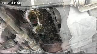 10  Замена прокладки поддона двигателя
